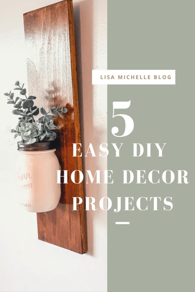 easy diy home decor