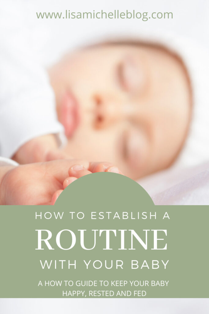 Establishing a routine with your baby