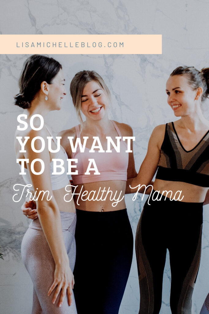 so you want to be a trim healthy mama