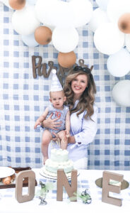 Parker James' First Birthday Party