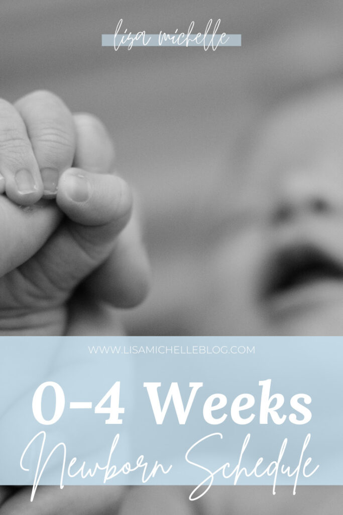 0-4 weeks newborn routine